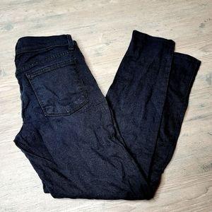 Free People Black Skinny Denim Jeans. Perfect!